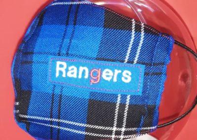 Rangers Face Mask